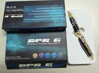 Wholesale Mni Camera - hidden pen camera 720*480 video Spy pen Camera mni Hidden pen Recorder hot selling spy pens no retail