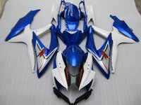 Wholesale Buy Fairings - New ABS Injection Fairing Kits 100% Fit For SUZUKI GSXR600 GSXR750 K8 08-10 2008 2009 2010 08 09 10 600 750 bodywork set love buy blue white
