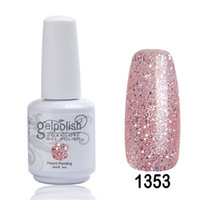 Wholesale Lamp Kit Cheap - Wholesale- Nail Art 2016 Beauty Personal Care Nail Gel Polish Factory Best Cheap Price Products Uv Gel Nail Kit With Lamp Home Kit