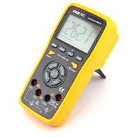 Wholesale Electrical Touch - Freeshipping Professional RS232 6000 Counts Key Touch Auto Range 10A Resistance Capacitance Frequency Temperature Digital Multimeter VC70C