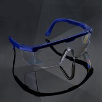 Wholesale Glass Polycarbonate Clear Anti Fog Lens Safety Glasses With Polish Multi color fFrame and CLear Lens