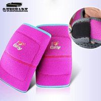 Atacado- Crianças Knee Support Kids Knee Protection Anti-skid Sport Safety Joelho Pad Dance Volleyball Soccer Skating Kneecap