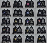 2017 cucita adlads Autentica squadra di hockey New York Crosby 100 Patch maglie sportive Baseball Hockey Football maglie universitarie Drop Ship