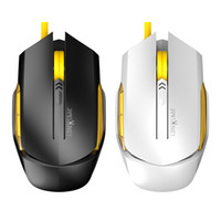 Wholesale Otg Usb Lenovo - James Donkey 112 USB Wired Optical Mouse Gaming Mice with Retail Box for Mac Computer Laptop Notebook Gamer CS OTG LOL Lenovo Free Shipping