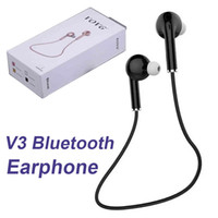 V3 Mini fone de ouvido Bluetooth 4.1 Música sem fio Handsfree Car Driver Headset Phone Stealth Earbuds com microfone EAR228