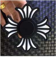 Wholesale Spider Man Movie Toys - Newest fidget Spinner Round elf ball flowers hand Spinner Captain America iron men spider man fidget spinner