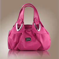 Wholesale Wholesale Navy Leather Handbag - Wholesale- 2017 fashion womens handbags and purses leather female Top-Handle Bags Hobos kabelky Flowers Totes bag lady purses and handbags