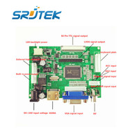 Wholesale Vga Lcd Controller Board - Wholesale- LCD Display TTL LVDS Controller Board HDMI VGA 2AV 50PIN for AT070TN90 92 94 Support Automatically VS-TY2662-V1 Driver Board