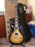 Wholesale Vintage Slash Signature - Wholesale- Slash signature Vintage Sunburst electric guitar with case HOT SALE China Guitar