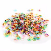 Wholesale chinese mixed clothes wholesale for sale - New Coming mm White and Mix Color D Sequin Flower For Clothing Accssory DIY Art Decoration Jewelry Making