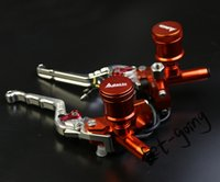 Wholesale Ktm Brake Lever - Motorcycle Brake Pump hydraulic clutch Lever Bar Handle master cylinder universal Racing bike factory for Aprilia KTM Suzuki Kawasaki Honda
