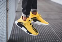 Wholesale Cotton Manufacture - Originals NMD Human Race PHARRELL YELLOW BB0619 fashion sneakers men shoes Human Race manufacture wholesale or drop shipment