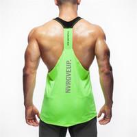 Wholesale Low Cut Vest Men - Wholesale- 2017 New Brand Top Men's clothing Gyms Tank Top Low Cut Armholes Vest Sexy Men's Tank Xman Muscle Man's Fitness Vest