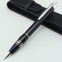 ingrosso migliori opzioni-Luxury best black middle night meccanico Matita opzionale 0.7mm astuccio per matite Offce matite elastiche penne per scrivere