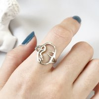 Wholesale Korean Ring Band Designs - New Korean Fashion Unique Design S925 Sterling Silver White Gold Yellow Gold Plated Ring for Fashion Girls Women Special Birthday Gift