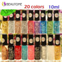 Wholesale Nail Stamping Polish Black - Wholesale- Stamp polish 1 Bottle LOT Nail Polish & stamp polish nail art pen 20 colors Optional 10ml More engaging 4 Seasons hot sell .!