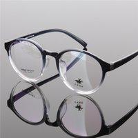 ingrosso gradiente nero cornici per occhiali rotonda uomini-All'ingrosso - Occhiali rotondi Vintage occhiali da vista Gradient occhiali da uomo donna miopia occhiali da vista lente moda clea 2014 nuovo nero
