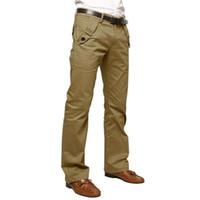 Wholesale Men Leisure Tracksuit - Wholesale- 2017 Men Tracksuit for men Solid Panties Skinny Casual pencil jean Sportwear Leisure Pants Slacks Trousers Sweatpants New