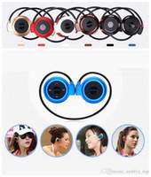 Wholesale Ipad Bluetooth Headset Music - Mini 503 Wireless Bluetooth Stereo Headphone Handsfree Sports Music in-ear Earphone Headset for Iphone 6 5S Ipad Samsung S4 S5 HTC LG DHL