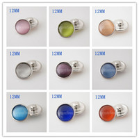 Wholesale Aa Jewelry - Partnerbeads Interchangeable Jewelry Accessory 12mm mini snaps metal of design Button Ginger Snap Jewelry Free Shipping KB3190-AA