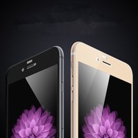 Wholesale Flexible Curve - 3D Full Cover Flexible Carbon Fiber Edge Tempered Glass Screen Protector For iPhone 6 6S 6Plus Ultra thin Protective Film