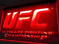 Wholesale Ultimate Orange - LD346r- UFC Ultimate Fight Championship LED Neon Light Sign