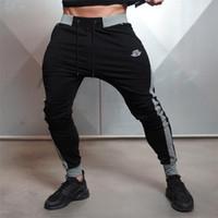 Wholesale active years - Wholesale-New Arrivals 2016 Year Men's Body Engineers Workout Cloth Sporting Active Cotton Pants Men Jogger Pants Sweatpants Bottom Leggin