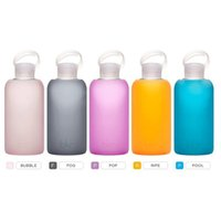 Eco-Friendly original briefs - bkr BEST Original Glass Water Bottle Premium Quality Soft Silicone Protective Sleeve BPA Free Dishwasher Safe