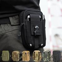 Wholesale edc belt - Wholesale- Waist Fanny Pack Belt Bag EDC Pouch Wallet Phone