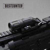 Wholesale Functional Fiber - Tactical Flashlight Inforce WML LED Gun Light Multi-functional Light Fits Picatinny 20mm Rails Fiber Composite Black