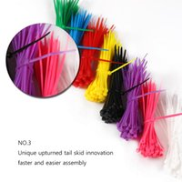 Hot 1000pcs / lot 150mm Network Nylon Plastic Cable Wire Zip Tie Cord Strap