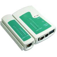 testador de cabos rj45 rj11 rj12 venda por atacado-8Set USB LAN Rede / Telefone Cable Tester RJ11 RJ12 RJ45