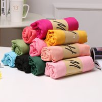Wholesale Scarf Mixed Candy Color - Hot Sale Women Solid Color Scarf Winter Candy Color Scarfs 78*180cm Shawls And Scarves Linen Cotton Scarf Warm Beach Pashmina Mix Colors