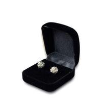 Wholesale Case Ring Box Organizer - 5Pcs Wholesale Engagement Black Velvet Ring Box Jewelry Display Storage Foldable Case For Wedding Ring Valentine's Day Gift Organizer