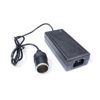 ingrosso presa di alimentazione ac dc-Adattatore per accendisigari da 60W CA 220V a DC 12V 5A Accendisigari per auto AC / DC