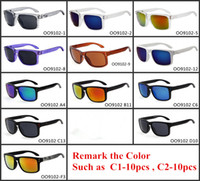 Wholesale Wholesale Mens Designer Frames - Newest Designer Sport Sunglasses Hotest 9102 VR46 Sunglasses Women Mens Rivet Sport Clying Sunglasses Fashion Outwears GSA001
