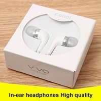 Wholesale Mix X5 - speaker Vivo XE600i X7plus X6 X5 XE680 mobile in-ear headphones OPPO samsung huawei xiaomi iphone android apple general mp3 headset dhl free