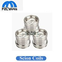 Wholesale Scion Wholesale - Authentic Innokin Scion Coil Head 0.28ohm 0.5ohm Replacement Coils Organic Cotton Coil Heads for Scion Tank