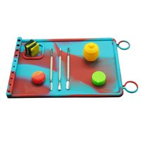 Brand new Heat resistance non-stick silicone baking mat anti slip mat dab wax oil extracts custom silicone dab mat