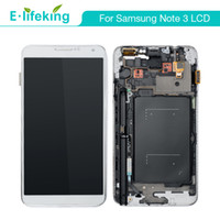Wholesale lcd touch screen samsung note resale online - LCD Display For Samsung Galaxy Note N9000 N9005 N900A N900T Touch Screen Digitizer Replacement with fast DHL shipping