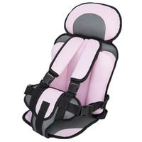 ingrosso sedie per bambini per neonati-Nuovo seggiolino per auto seggiolino per neonato seggiolino portatile per bambini seggiolini di sicurezza seggiolini per bambini versione aggiornata spugna per bambini seggiolino auto