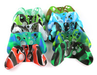 Camouflage Silicone Case for Microsoft Xbox One Games Controller Protective Skin Cver for XboxOne