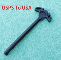 Wholesale Airsoft M4 Gbb - Butterfly style Metal Cocking Handle poignee airsoft for WA G&P PTW M4   M16 Series Airsoft GBB airsoft m16 USPS Shipping From USA