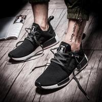 Wholesale Cheap Canvas Shoes Unisex - Cheap NMD XR1 Mastermind Japan X mmj master mind boost Primeknit PK black for men women Running Shoes Sports Shoes sneakers eur 36-45
