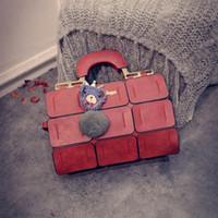 Wholesale Cheap Luxury Handbags Women Bags - women designer bags 2017 winter new arrival luxury brand women handbags cheap price messenger bag high quality