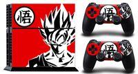 konsolenaufkleber großhandel-Dragon WUKONG SONY PS4 Aufkleber Schutzhülle für SONY PS4 CONSOLE CONTROLLER