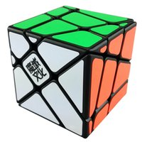 Nouveau YJ Moyu Crazy Fisher Cube 57mm Speed ​​3x3x3 Magic Cube Educational Twist Puzzle Toy