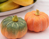 Wholesale Foreign trade high simulation fruit vegetables model home cabinets decorations photography props fake pumpkin