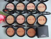 Wholesale plus gift online - Dropshipping Lowest Price Best Selling New Makeup STUDIO FIX POWDER PLUS FOUNDATION FOND DE TEINT POUDRS g gift
