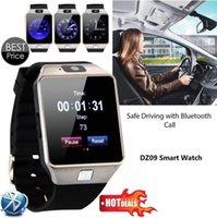 reloj smart оптовых-Смарт-часы DZ09 для Apple Android Телефон Поддержка SIM TF Reloj Интеллектуальные часы Inteligente PK GT08 U8 Носимая смарт-электроника на складе